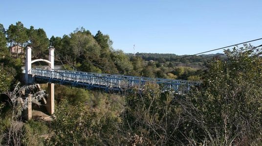 Puente Colgante de Alpa Corral
