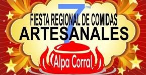 14 y 15 de Noviembre - Fiesta Regional de Comidas Artesanales