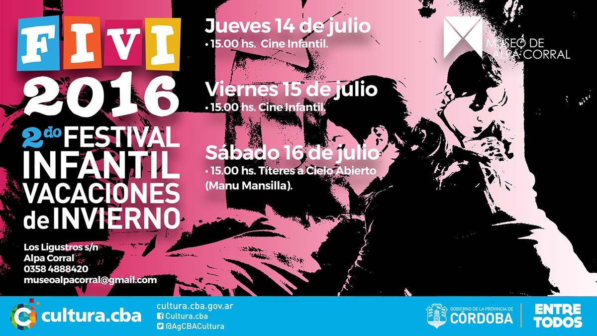 FIVI Festival Infantil de Vacaciones de Invierno en el Museo de Alpa Corral