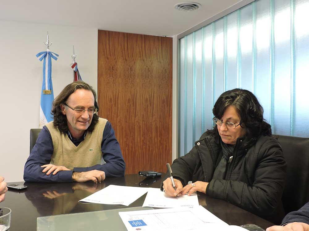 ALPA CORRAL Y EL GOBIERNO PROVINCIAL  INTERCAMBIARÁN INFORMACIÓN TRIBUTARIA