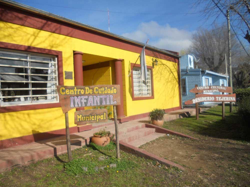 La Municipalidad de Alpa Corral ultima en estos días la obra de gas en su Centro Cultural