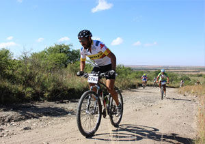 mountain bike en Alpa Corral