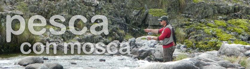 Pesca con mosca en Alpa Corral