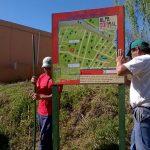 La Municipalidad de Alpa Corral instaló carteles de señalización