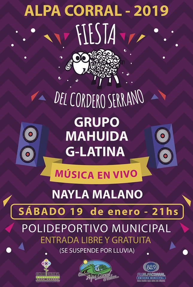 Fiesta del cordero serrano 2019